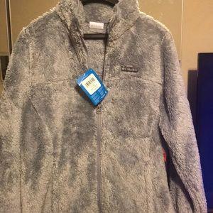Fleece full zipper coat